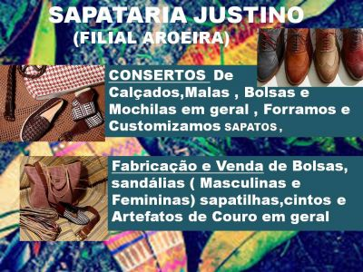 Sapataria Justino - Aroeiras