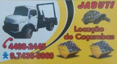 Jabuti Caçambas