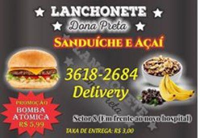 Dona Preta - Lanchonete