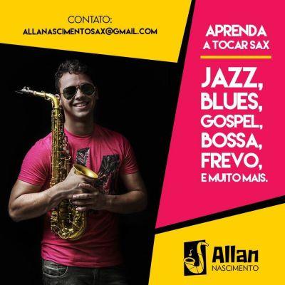 Alan Nascimento - Aulas de Saxofone