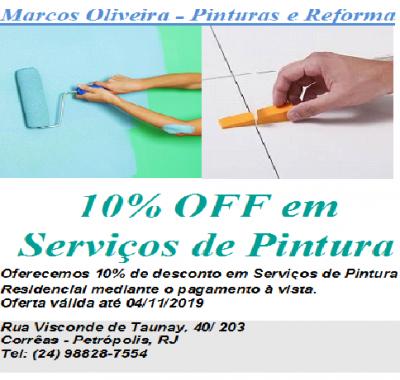 Marcos Oliveira pintura e reforma