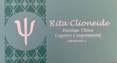 Rita Clioneide Psicologa